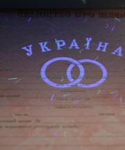 Диплом - микро ворс в УФ (Константиновка)